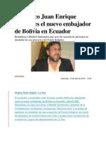 El Músico Juan Enrique Jurado