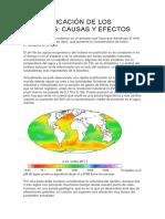 La Acidificación de Los Océanos