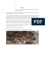Características de La Piedra Laja