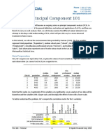 Principal Component Analysis 101