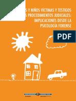 Niños y Niñas Víctimas y Testigos en Procesos Judiciales - Implicaciones Desde La Psic Forense - Febrero 2016
