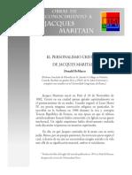El Personalismo Cristiano - Jacqeus Maritain