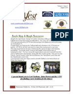 Westminster Fallfest Newsletter Volume 1 Issue 1 August 2010