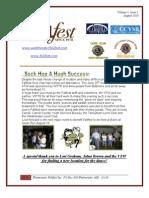 Westminster Fallfest Newsletter Volume 1 Issue 1 August 2010