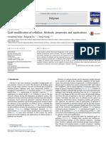 Graft Modification of Cellulose