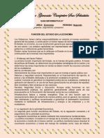 10° GUIA ECONOMIA FUNCIONES DEL ESTADO