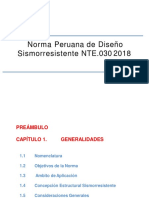 Norma Peruana de DSR E030 2018 AMP