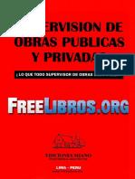 Supervisión de Obras Públicas y Privadas - MIANO