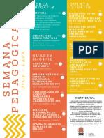 Folder Semana Pedagógica 2018.1