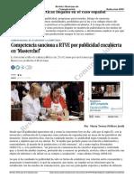 Periodismo y Publicidad Encubierta