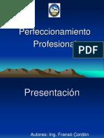 Perfeccionamiento Profesional