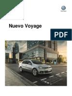 Ficha Tecnica Nuevo Voyage MY2018