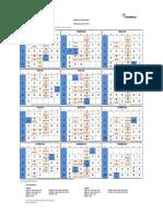Calendario Cronograma Anual 2018 PDF