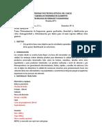 Practica 1. Determinación Físcas de Los Cereales Daños, Color, Homegneidad, Densidad, Quebrados