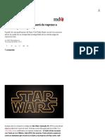 Star Wars_ Episodio IX Traerá de Regreso a Un Mítico Personaje - MDZ Online