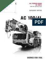 All Terrain Terex Ac 100-4l