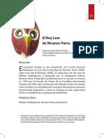 Rey Lear -  Nicanor Parra