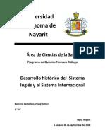Historia de los Sistemas de Unidades LPM S1