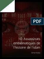10 Assassinats Emblematiques en Islam