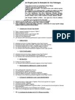 Checklist Rabat