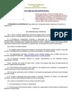 Lei 12.850 - Lei Das Organizacoes Criminosas