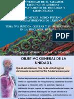 Clase Conferencia 1a y 1b de La Unidad Nº 1 de Fisiologia i Ciclo i 2018