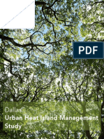 Texas Trees Urban Heat Island Study
