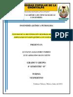 230497997 Recuperacion Mejorada de Petroleo Mediante Invasion Quimica Con Surfactantes