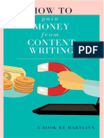 How to Gain Money From Content Writing