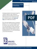Cuchilla Desconectadora Operacion en Grupo - COMANEL