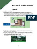 Diseño de Un Sistema de Riego Residencial