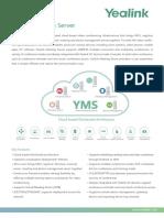 Yealink YMS Meeting Server Datasheet