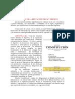 Si 1.-CAPITULO I Bases Legales de La Ed.fisica