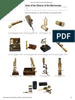 Microscope History _ Pre-Achromatic Microscopes