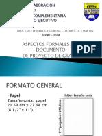 Aspectos Formales Del Documento