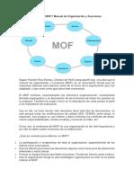 Qué es el MOF
