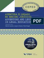 Aventura e Legado No Ensino Jurídico - Adventure and Legacy in Legal Education