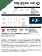 04.16.18 Mariners Minor League Report