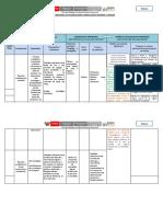 Matriz Regional de Planificación Curricular en Reversa II Unidad