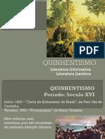 Quinhentismo-Aula e Exerc.