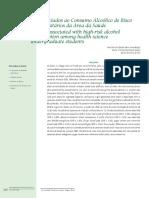 fatores de risco associados ao consumo alcoolico de risco entre universitarios da area da saude.pdf