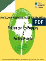 Politica Nacional de Bosques Nativos - Menendez
