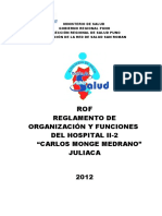 Rof 2012 Hosp Juliaca Cmm Oficial
