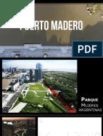 Puerto medero. Parque de las mujeres argentinas