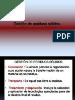 Clase 4 Gestion de Residuos Solidos