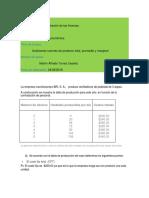 Analizando Razones de Producto Total, Promedio y Marginal
