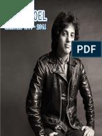 Billy Joel Rarities Booklet
