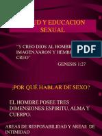 Salud y Educacion Sexual