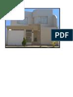 FACHADA vivienda modelo