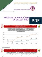 Paquete de Atención Integral en Salud Niño